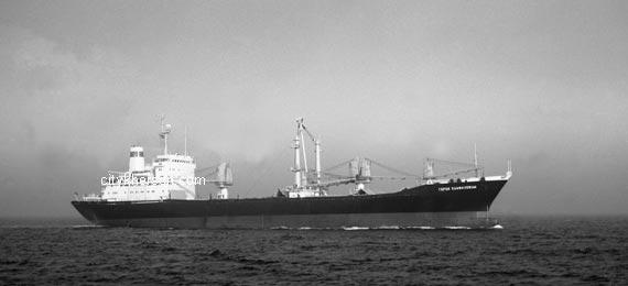 Океанского турбохода ленинский комсомол